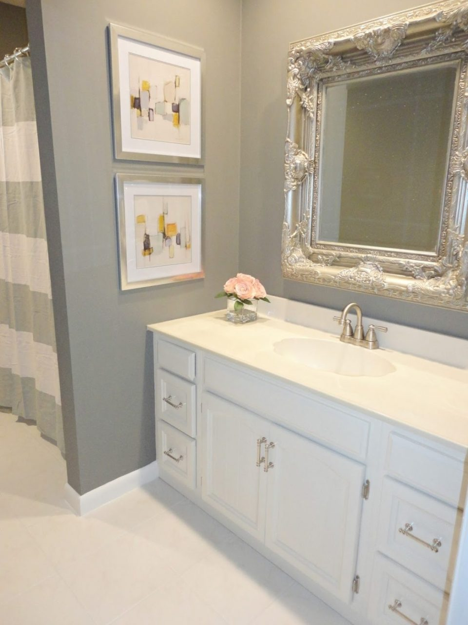 Diy Bathrooms Budget Bath Remodel Small Bathroom Renovation