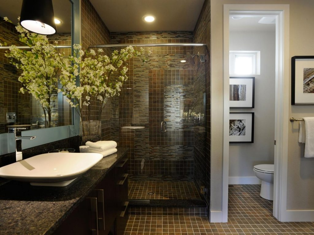Download Earth Tone Bathroom Designs Androidtak