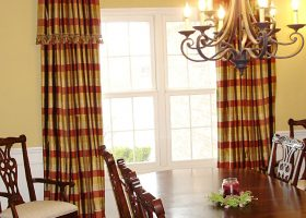 Dining Room Drapes And Curtains