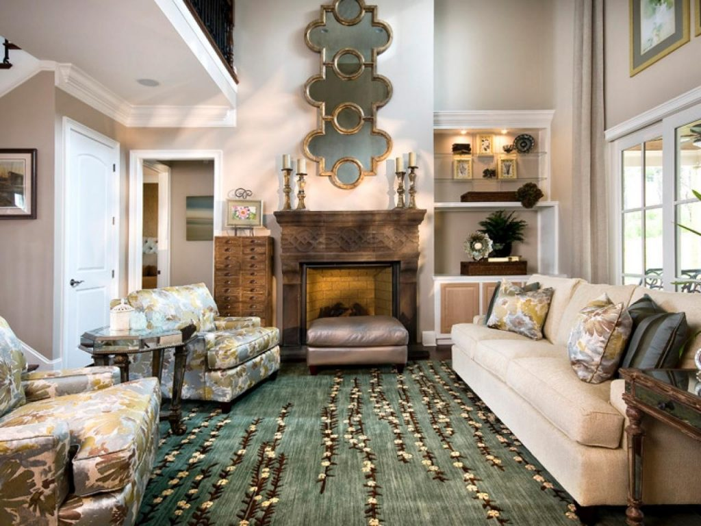 Elegant Living Rooms Less Is More
