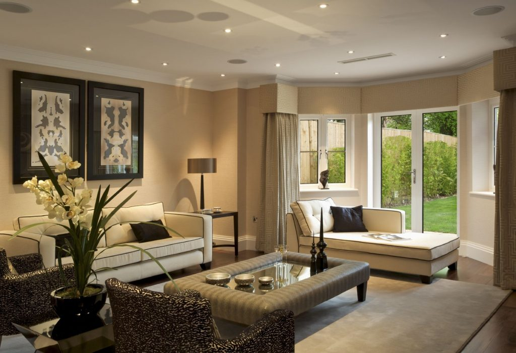 Elegant Living Rooms With High Style Traba Homes