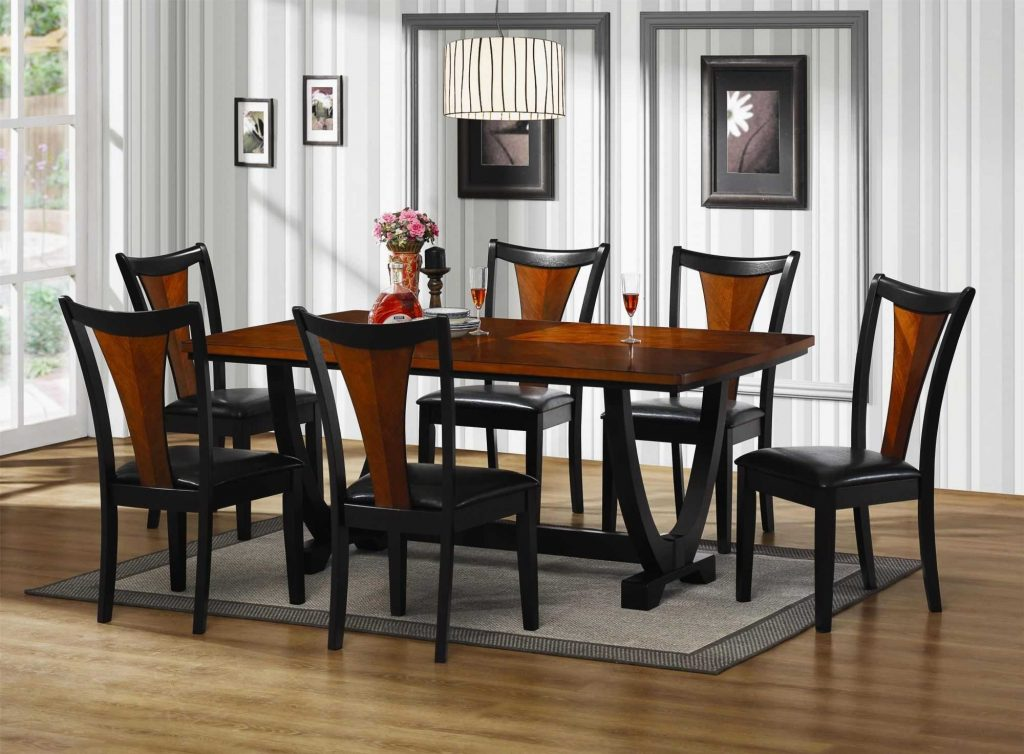 Enchanting Queen Anne Cherry Dining Room Set Sets Ideas Marvelous