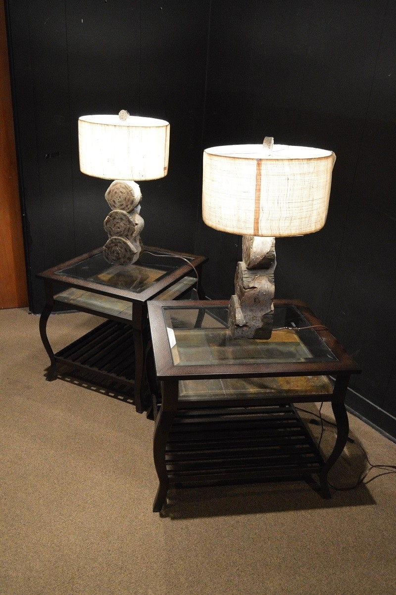 End Table Lamps For Living Room Home Maximize Ideas