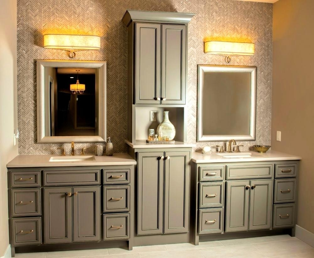 Fascinating Idea Bathroom Vanity Cabinet Sets Cabinets Absolutely