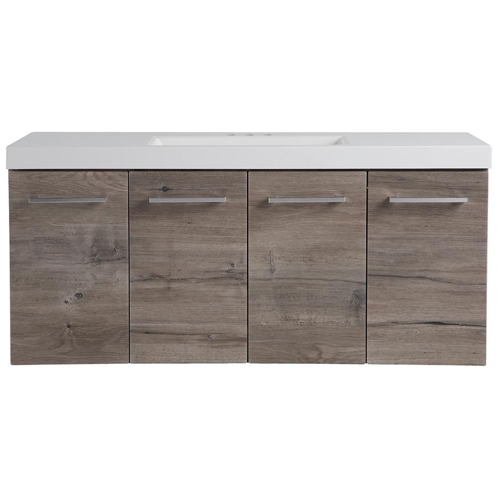 Floating Bathroom Vanities Bath The Home Depot
