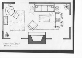 Living Room Floor Plans