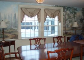 Dining Room Valance Curtains