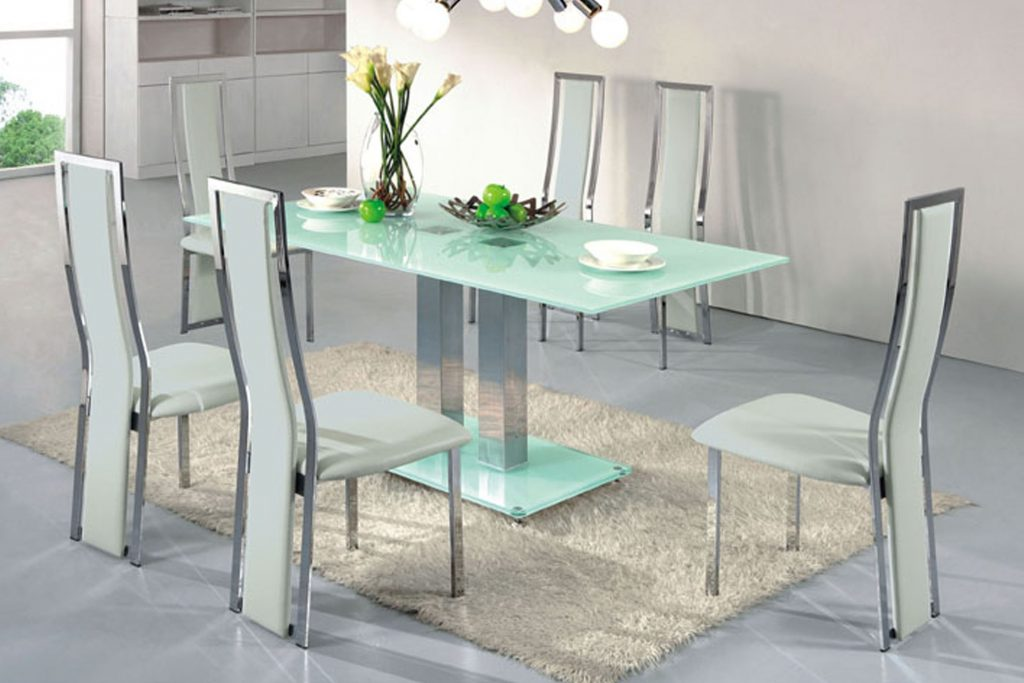Glass Dining Room Tables Fair Kitchen Glass Table Home Design Ideas