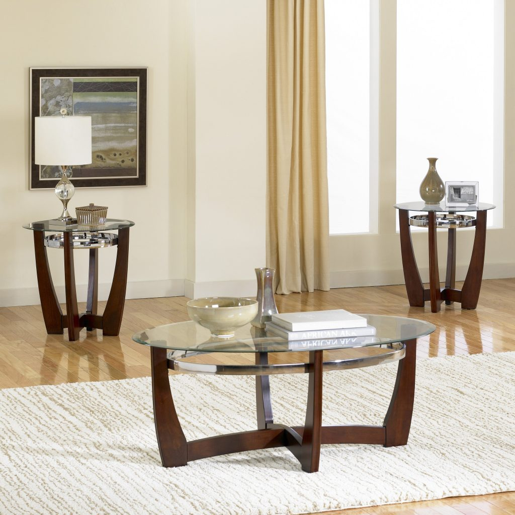 Glass Table Sets For Living Room