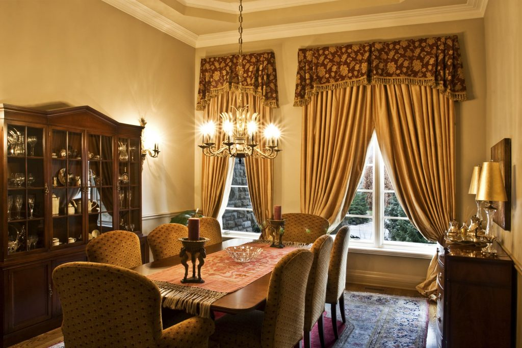 Gorgeous Inspiration Dining Room Curtain Ideas 2017 With Pictures