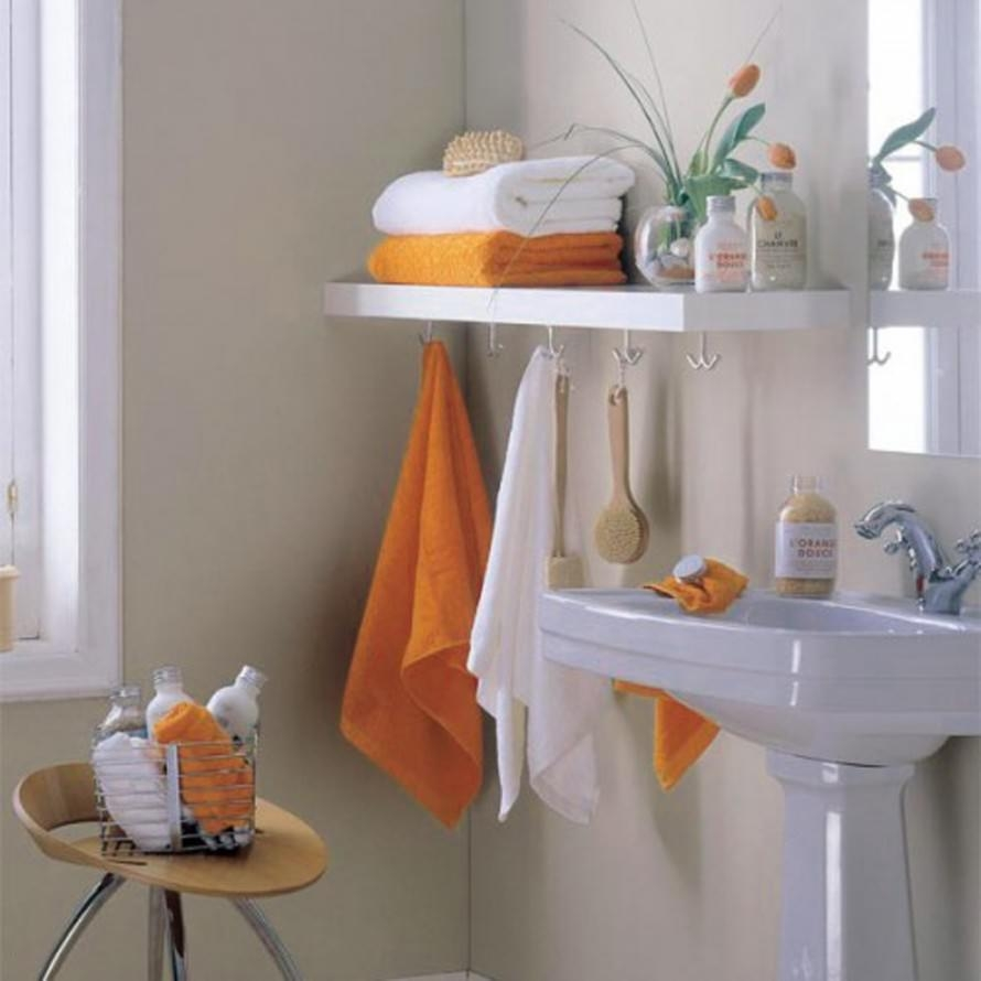 Gorgeous Small Bathroom Towel Storage Ideas Towel Storage For Small