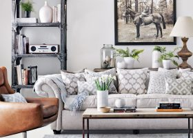 Living Room Ideas Grey Walls