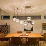 Hanging Dining Table Is Also A Kind Of Over Lighting Light Fixture