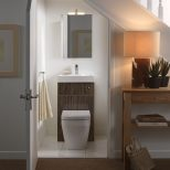 Hidden And Invisible Staircase Bathrooms Small Bathroom Under The