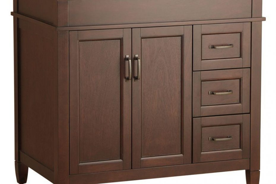 Home Decorators Collection Ashburn 36 In W Bath Vanity Cabinet Only