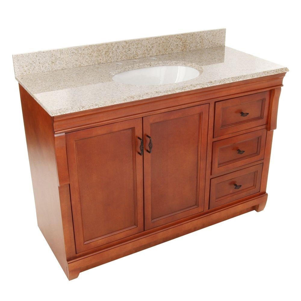 Home Decorators Collection Naples 49 In W X 22 In D Bath Vanity