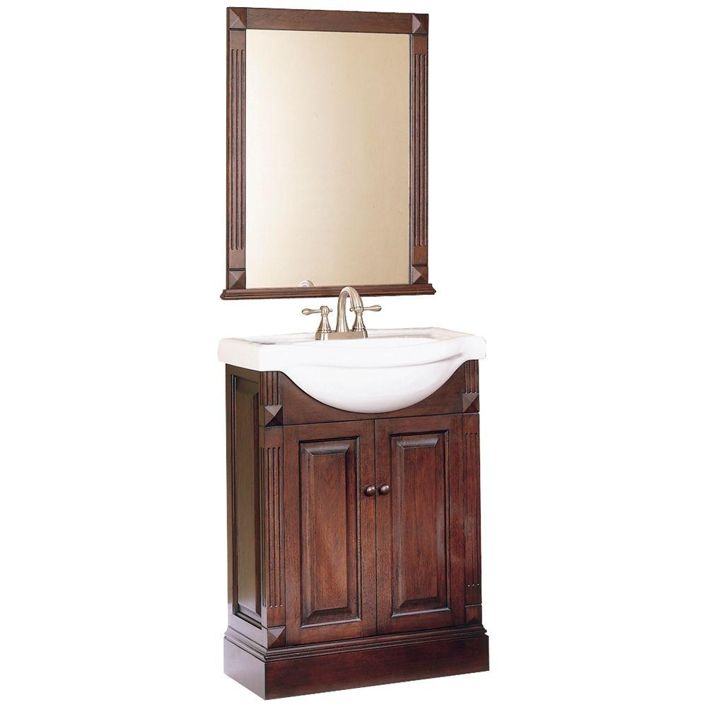 Home Decorators Collection Salerno 25 In W Bath Vanity In Espresso