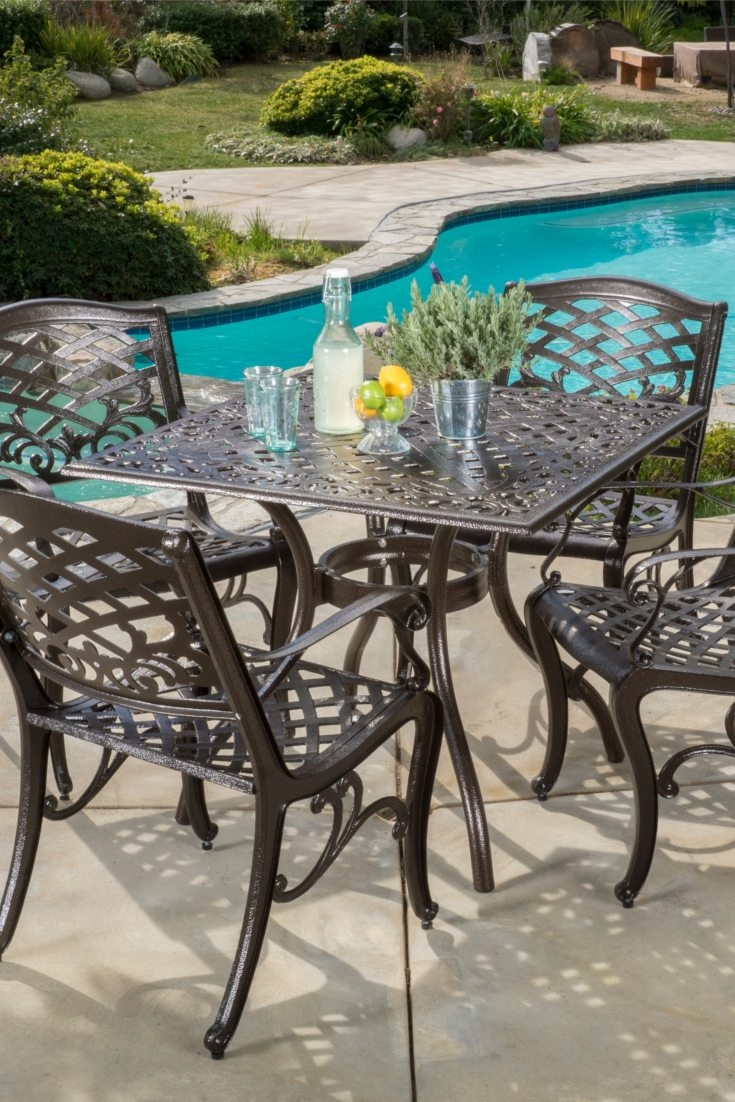 How To Choose The Best Metal Patio Set Overstock