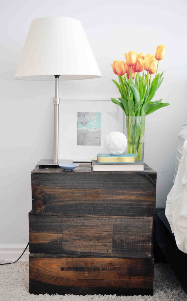 How To Diy A Gorgeous 3 Nightstand Diy Projects Pinterest