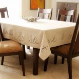 How To Make A Handwritten Tablecloth How Tos Diy