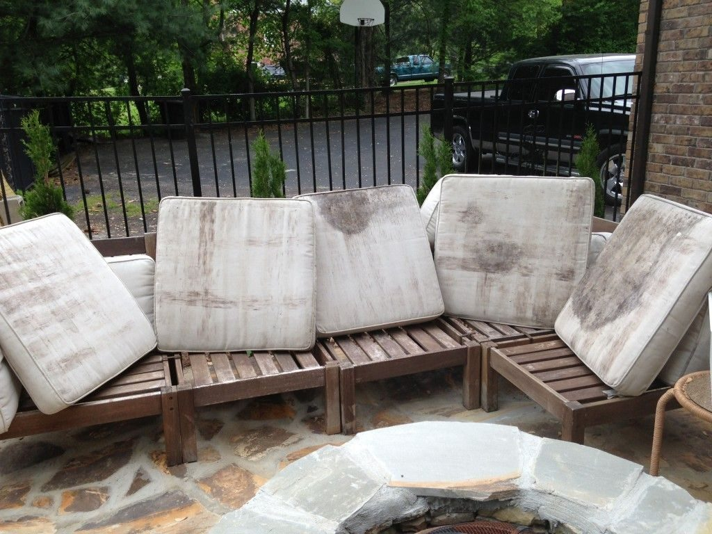 How To Rehab An Outdoor Sectional Home Pinterest Outdoor