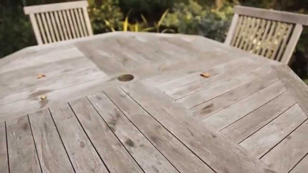 How To Restore Your Wooden Garden Furniture Youtube