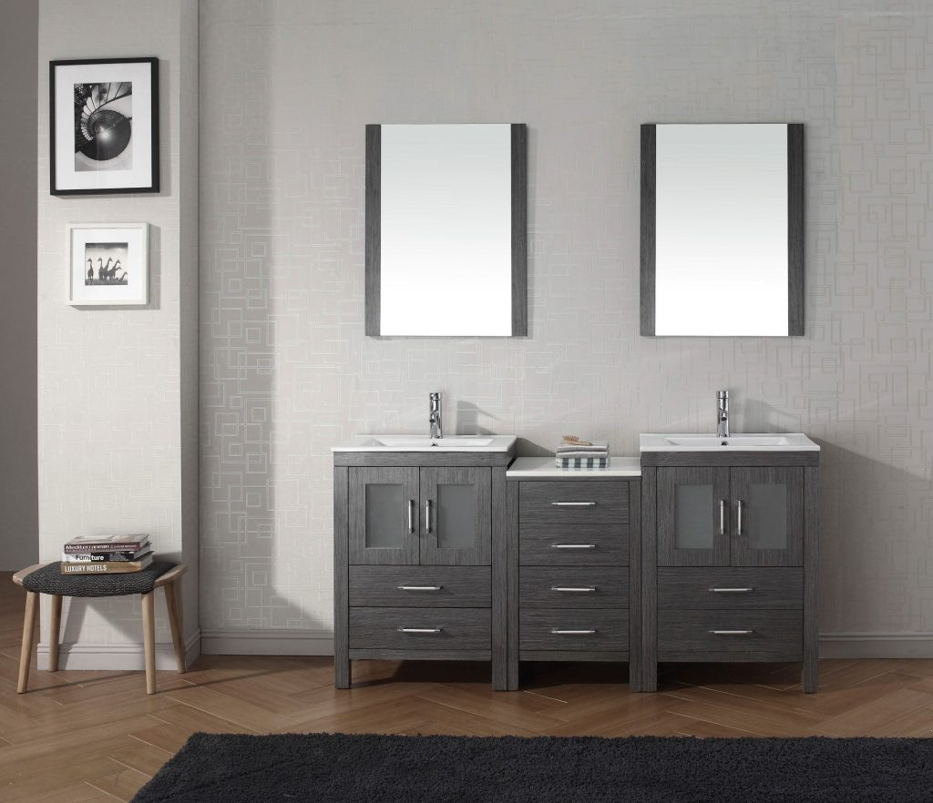Impressive Small Bathroom Vanities With Calm Sink Decorating And