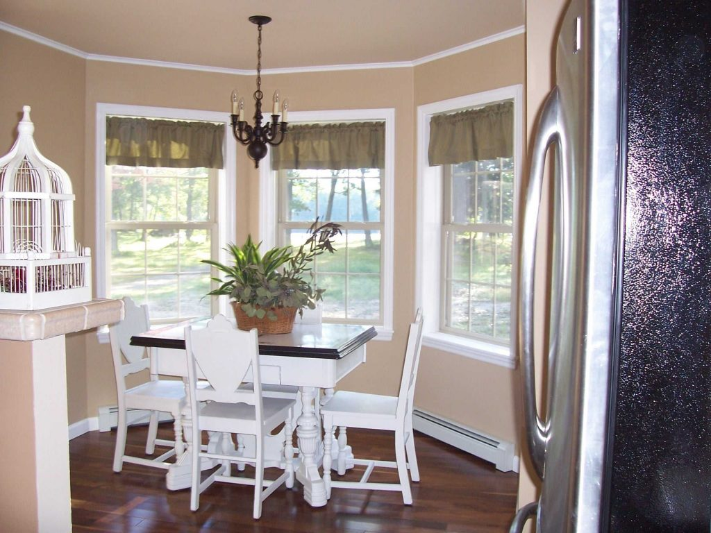 Innovation Idea Curtains For Bay Windows In Dining Room Window