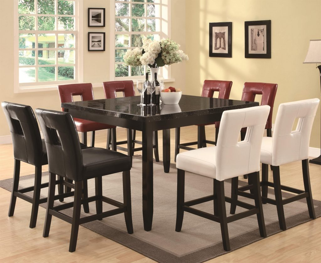 Inspiring Ideas Pub Dining Table Set Room Sets Brilliant On Intended