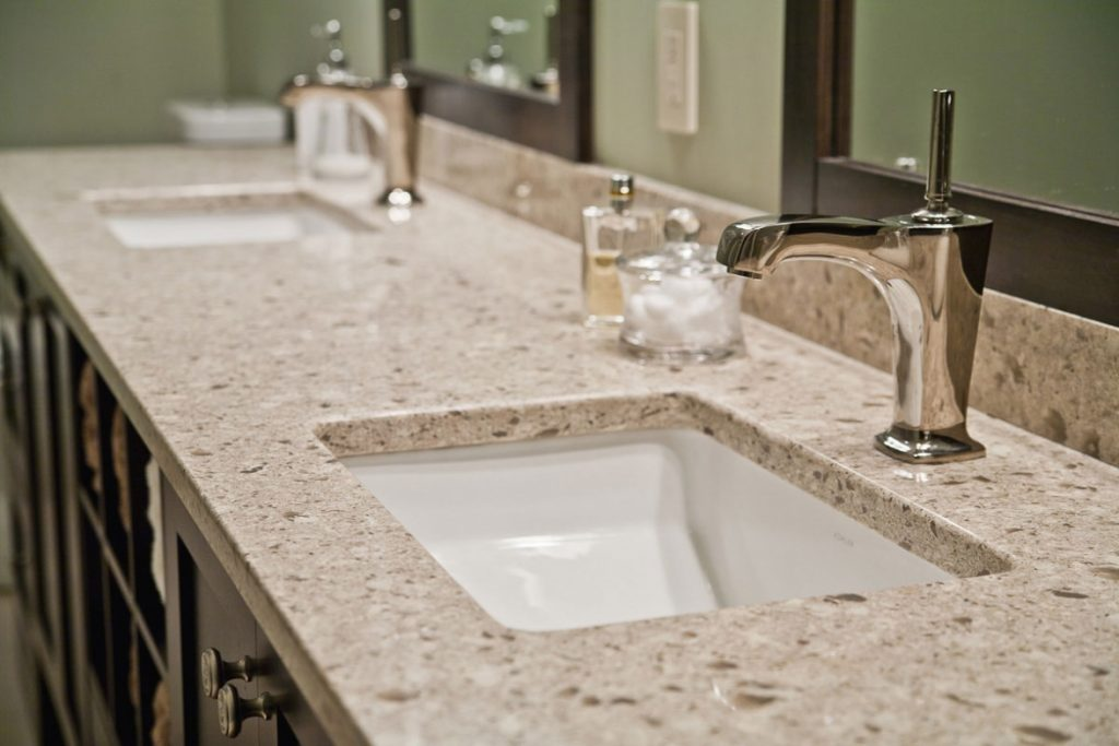 Kitchen Amusing Quartz Countertops Bathroom Vanities Charming