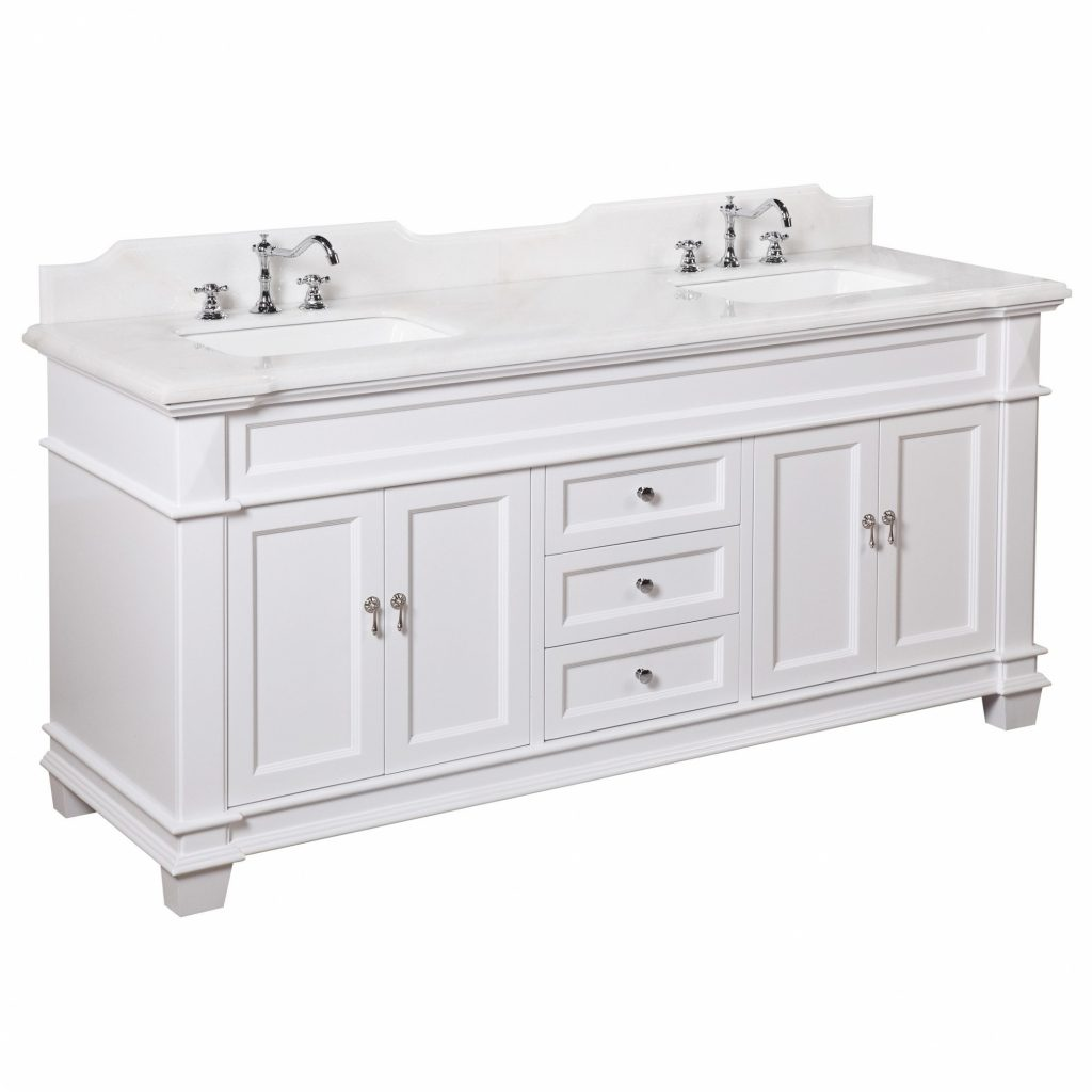 Kitchen Double Vanities Wayfair Elizabeth Bathroom Vanity Set
