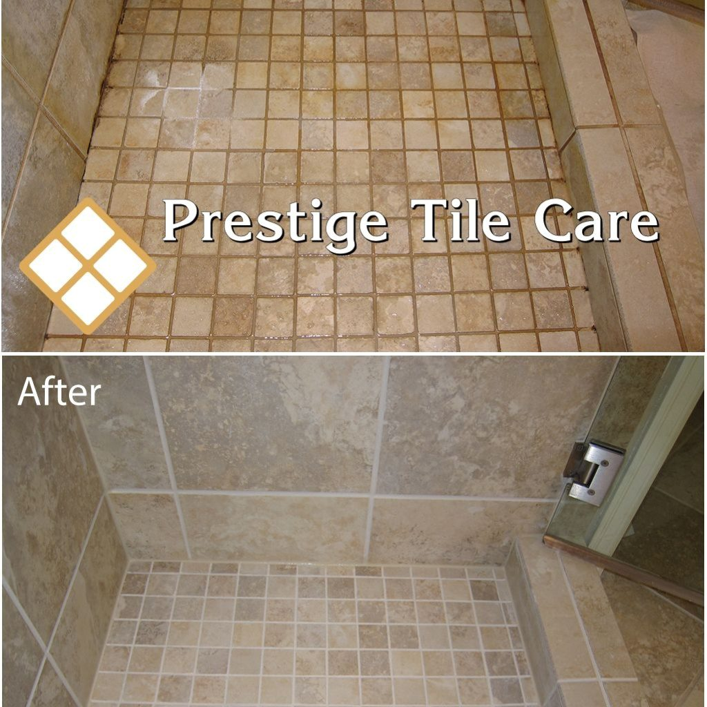 Luxury Cleaning And Colorsealing Shower Grout And Recaulking Shower