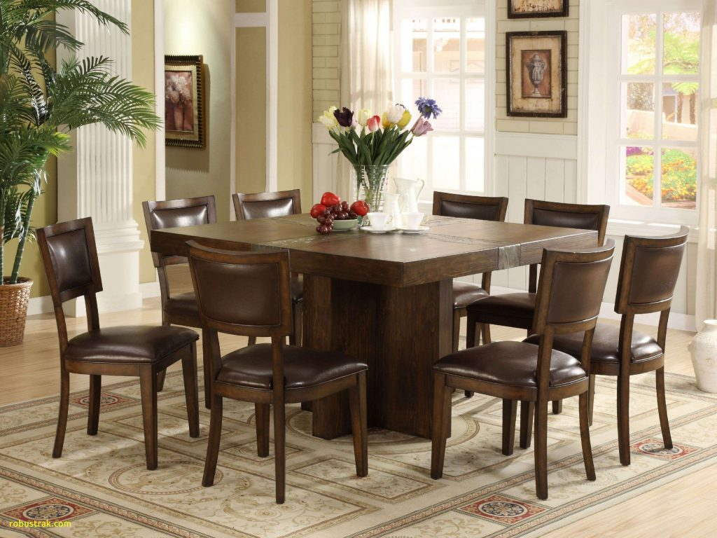 Marvelous Design Ideas 8 Seat Dining Room Sets New Square Table Home