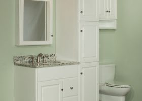 Bathroom Vanities And Linen Cabinet Sets