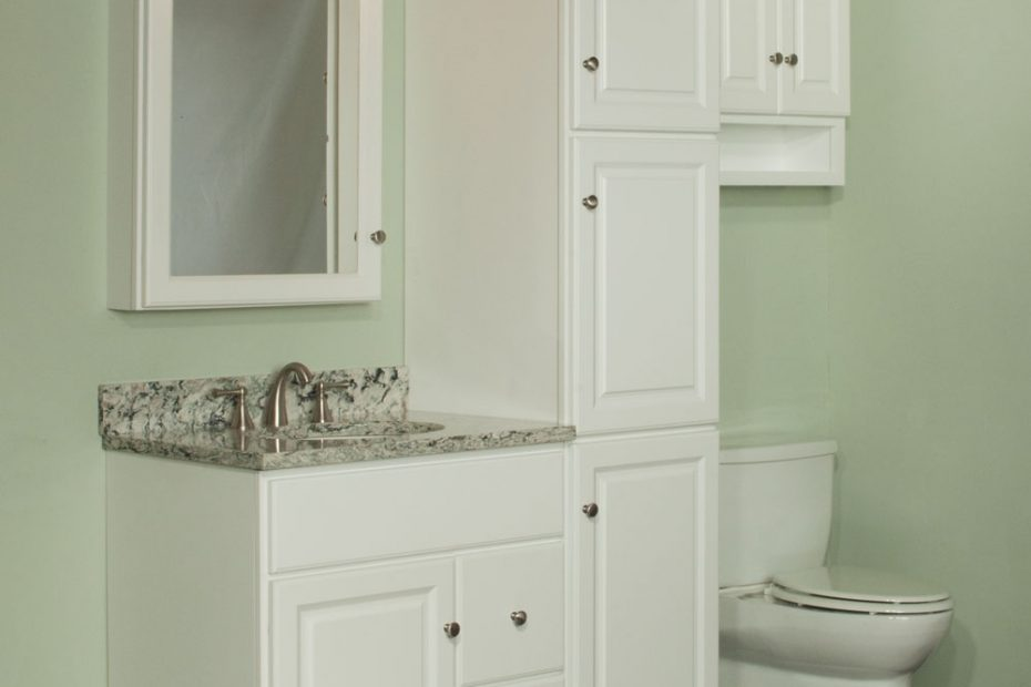 Miraculous Bathroom Vanities With Matching Linen Cabinets Of Home