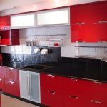 Kitchen Designs Red And Black