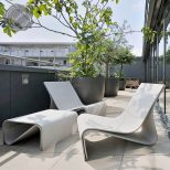 Modern Design Outdoor Furniture Glamorous Modern Outdoor Patio
