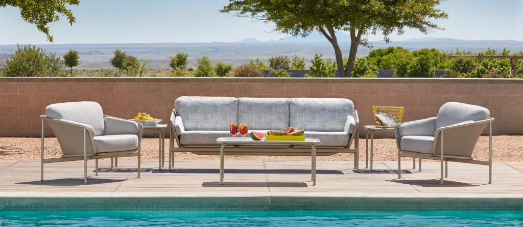 Modern Outdoor Furniture Cantoni