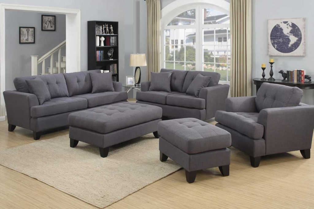 Norwich Gray Sofa Set The Furniture Shack Discount Furniture