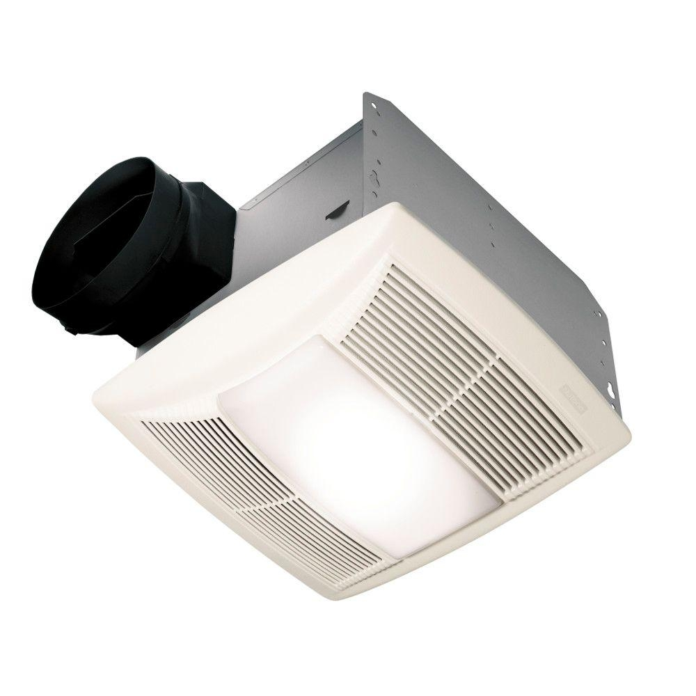 Nutone Qt Series Quiet 130 Cfm Ceiling Bathroom Exhaust Fan With