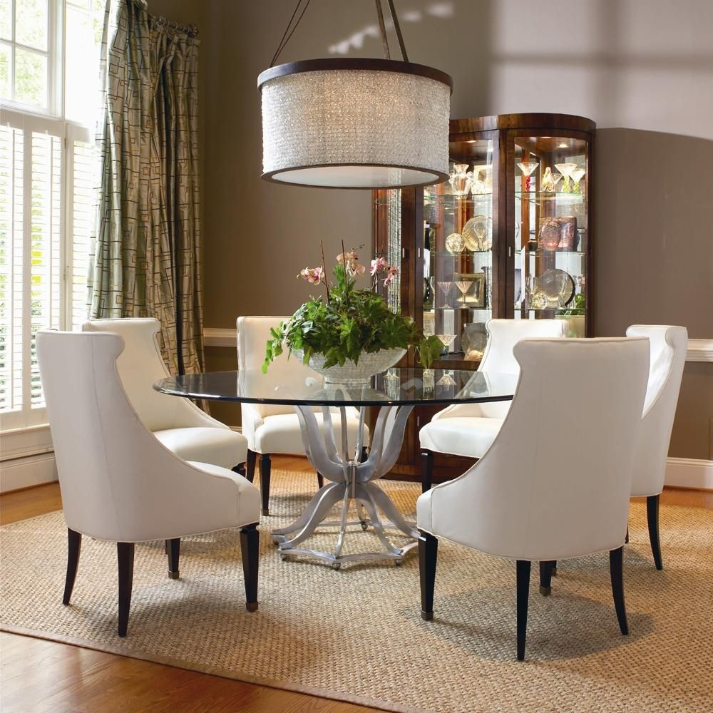 Omni Metal Base Dining Table And Upholstered Chair Set Century