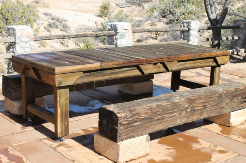Outdoor Dining Sets With Bench Furniture Seating Table Seats Wood