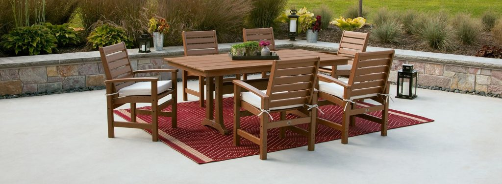 Outdoor Patio Dining Furniture Polywood