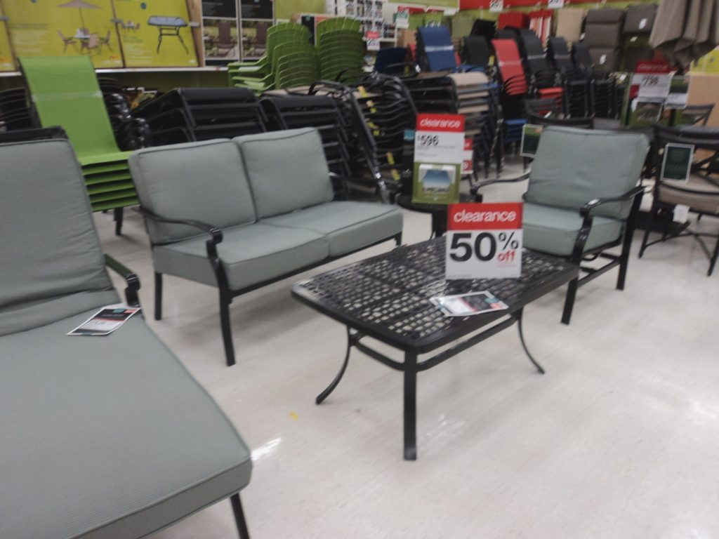 Patio Furniture Clearance Target Clearance Save 41 On Patio Sets