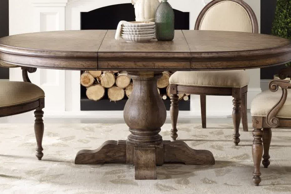 Pedestal Dining Table With Leaf The New Way Home Decor Pedestal