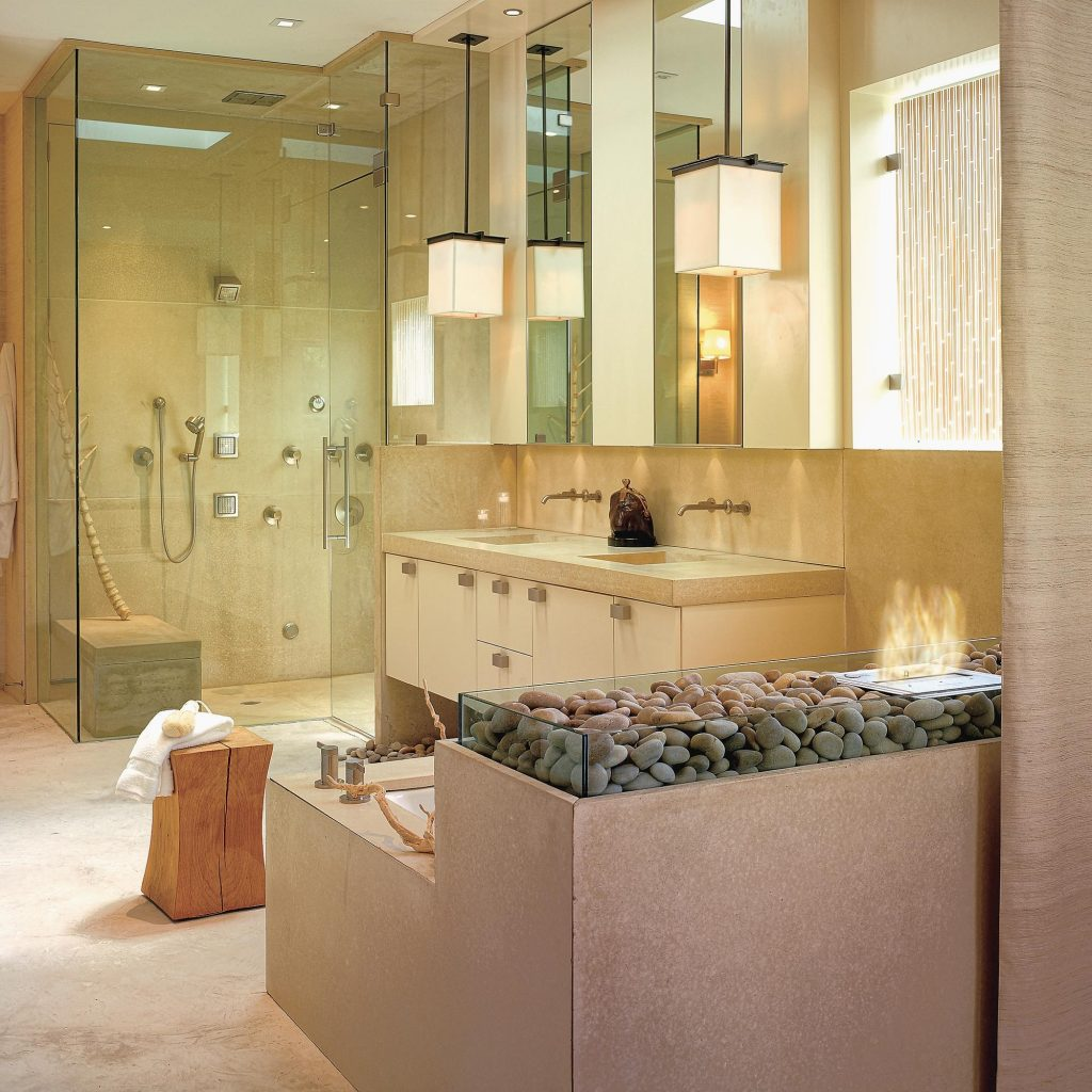 Pendant Drop Tips For Incorporating Pendant Lights Into A Bathroom