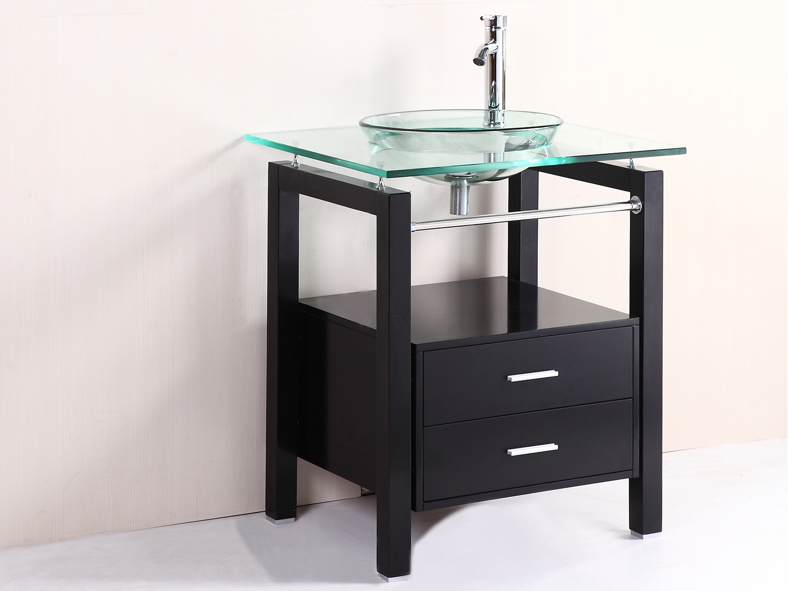 Pictures Glass Bowl Sink Vanity Longfabu