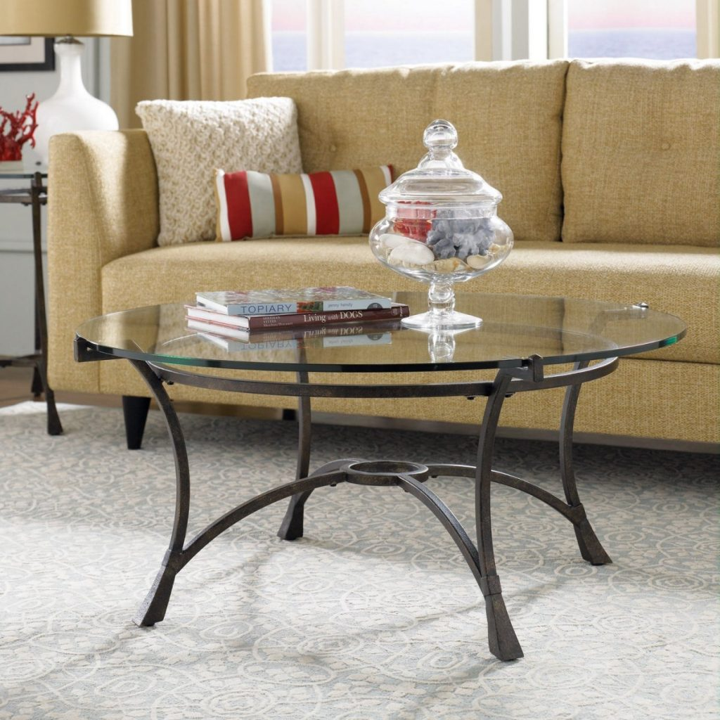 Popular 10 Best Ideas Of Small Wood Glass Top Round Coffee Tables