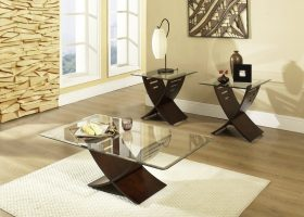 Living Room Glass Table Sets