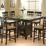 Bar Height Dining Table Set Lovable New Pub Style Dining Room Table Layjao